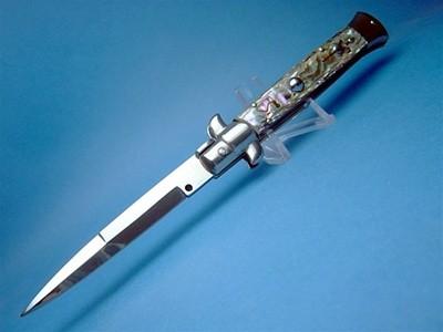 """Frank Beltrame 9"""" Abalone Bayonet"""