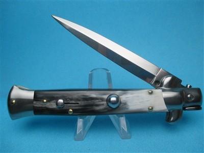 "Frank Beltrame 9"" Brazilian Horn Dagger switchblade"