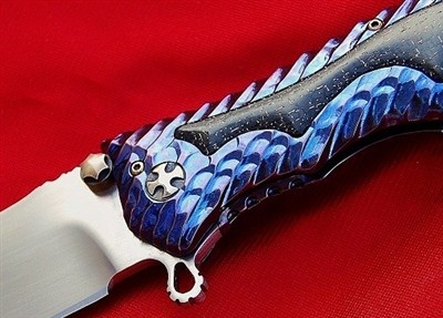 DARREL RALPH (DDR) TITANIUM GUN HAMMER FLIPPER