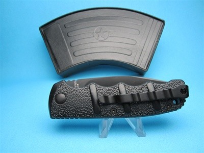 Boker Kalashnikov Tactical Black Handle & Serrated Blade KALS74BKS