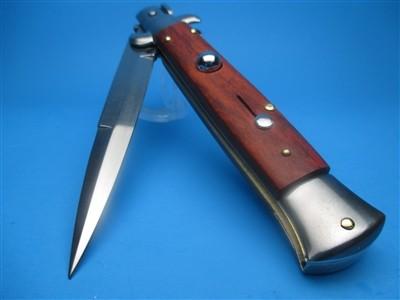 "Frank Beltrame 9"" Cocobolo Wood Bayonet Blade"