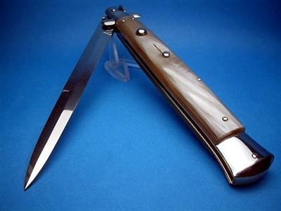 "Frank Beltrame 13"" Blonde Horn Bayonet"