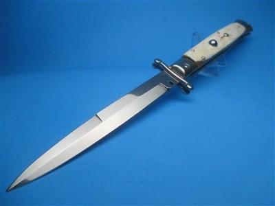 """Frank Beltrame 11"""" Blonde Horn Bayonet Swinguard"""
