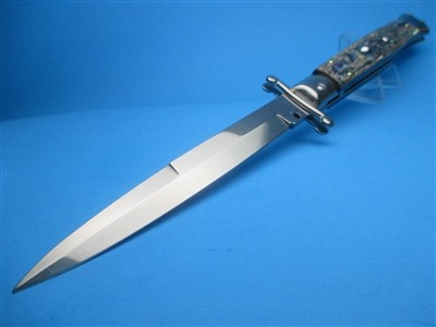"Frank Beltrame 11"" Abalone Bayonet Swinguard"