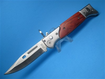 "The ""AK47"" Drop Point Switchblade"