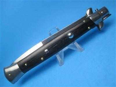 "Frank Beltrame 11"" Ebonywood Bayonet Switchblade"