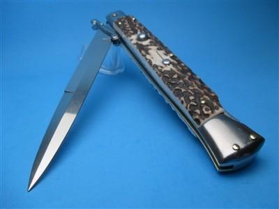 """Frank Beltrame 11"""" Stag Horn Bayonet Swinguard"""