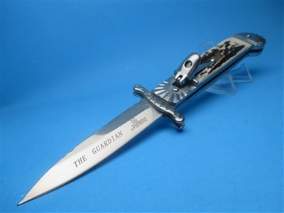 "Hubie 8.25""  Stag Bayo Guardian Swinguard Clone"