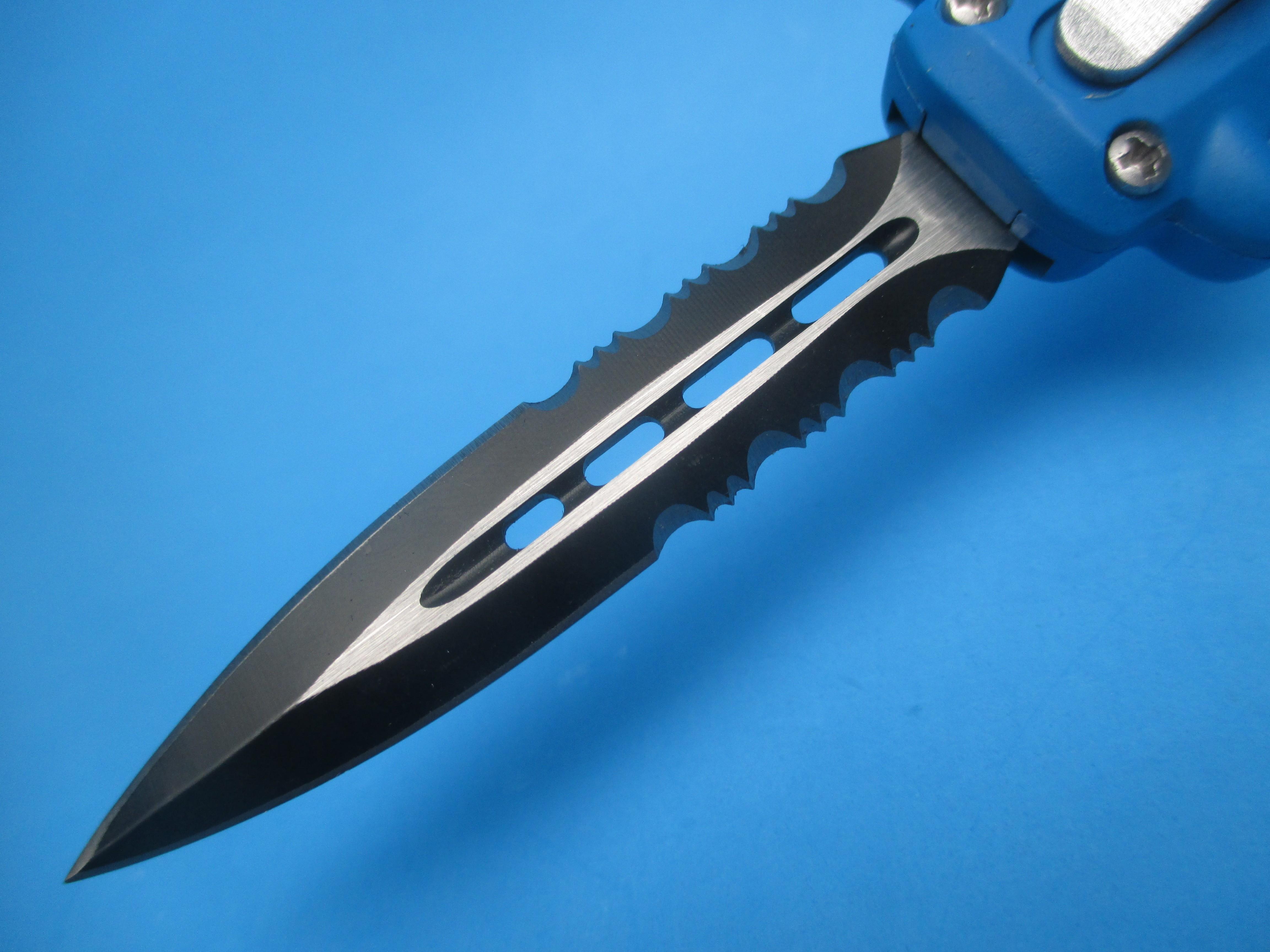 7'' Blue Devil OTF Switchblade