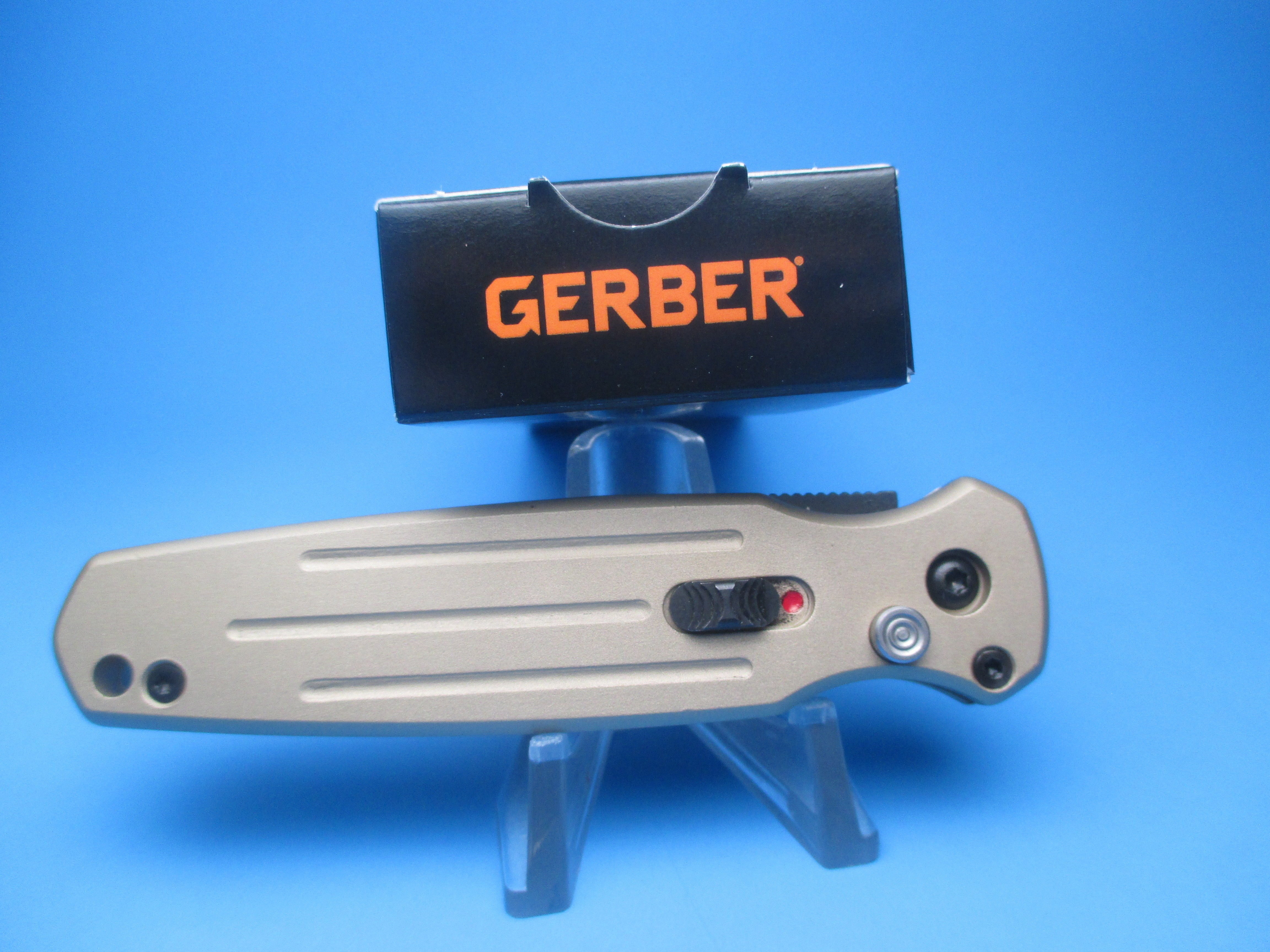Gerber Mini Coyote Brown Covert Automatic Switchblade