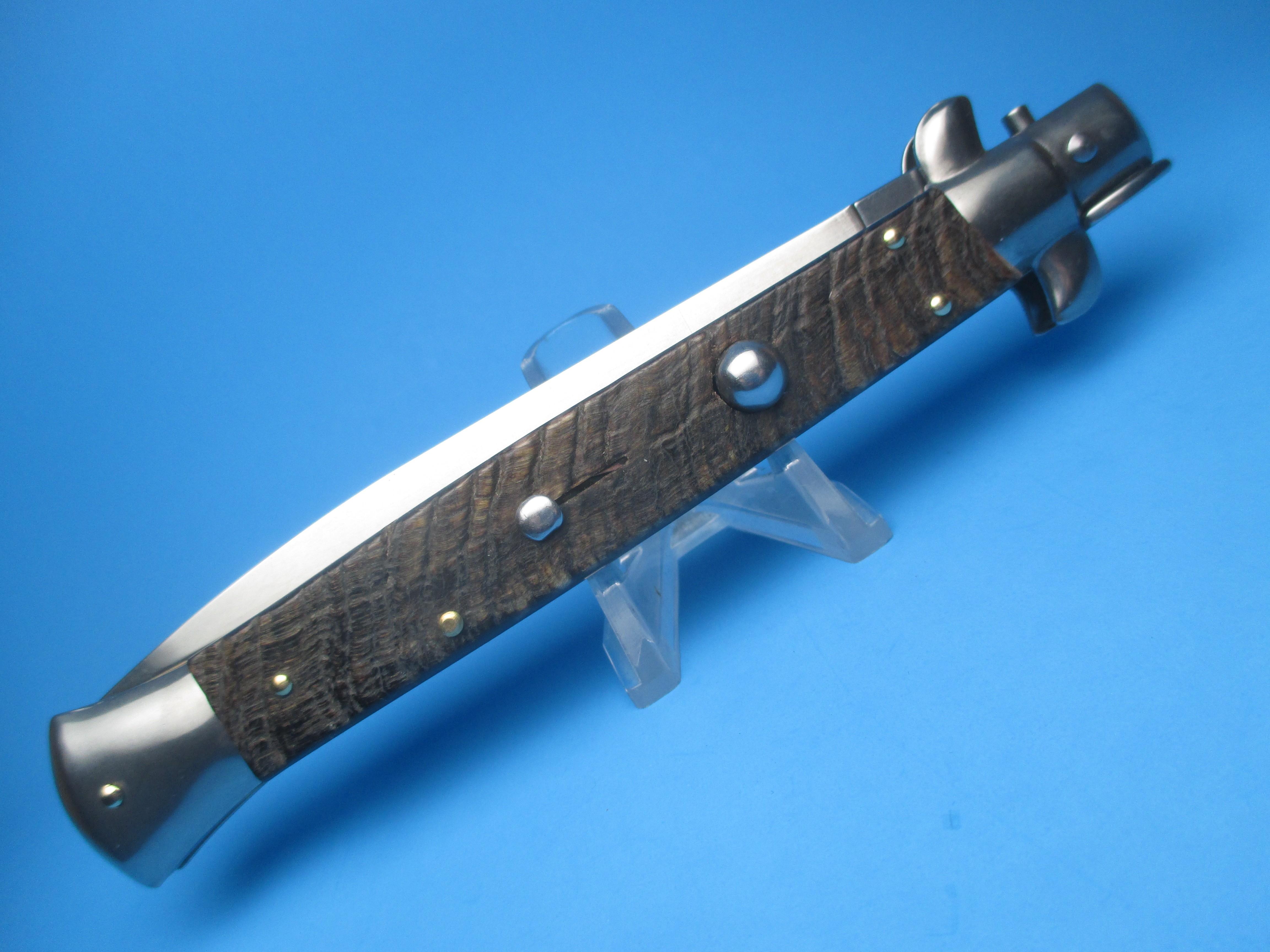 """Frank Beltrame 11"""" Rams Horn Bayonet Switchblade"""