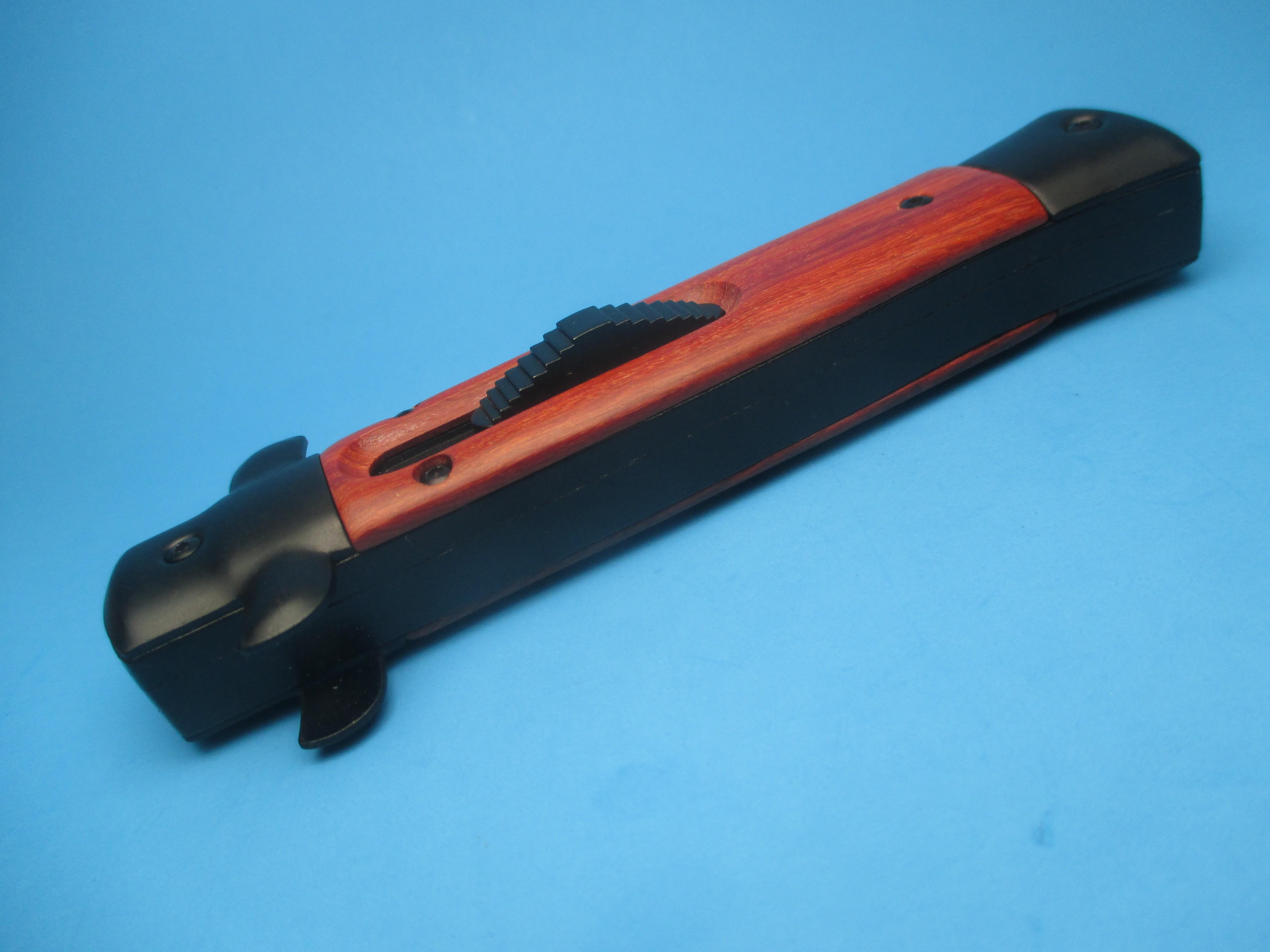 9'' Tactical Wood Stiletto Style OTF Bayonet