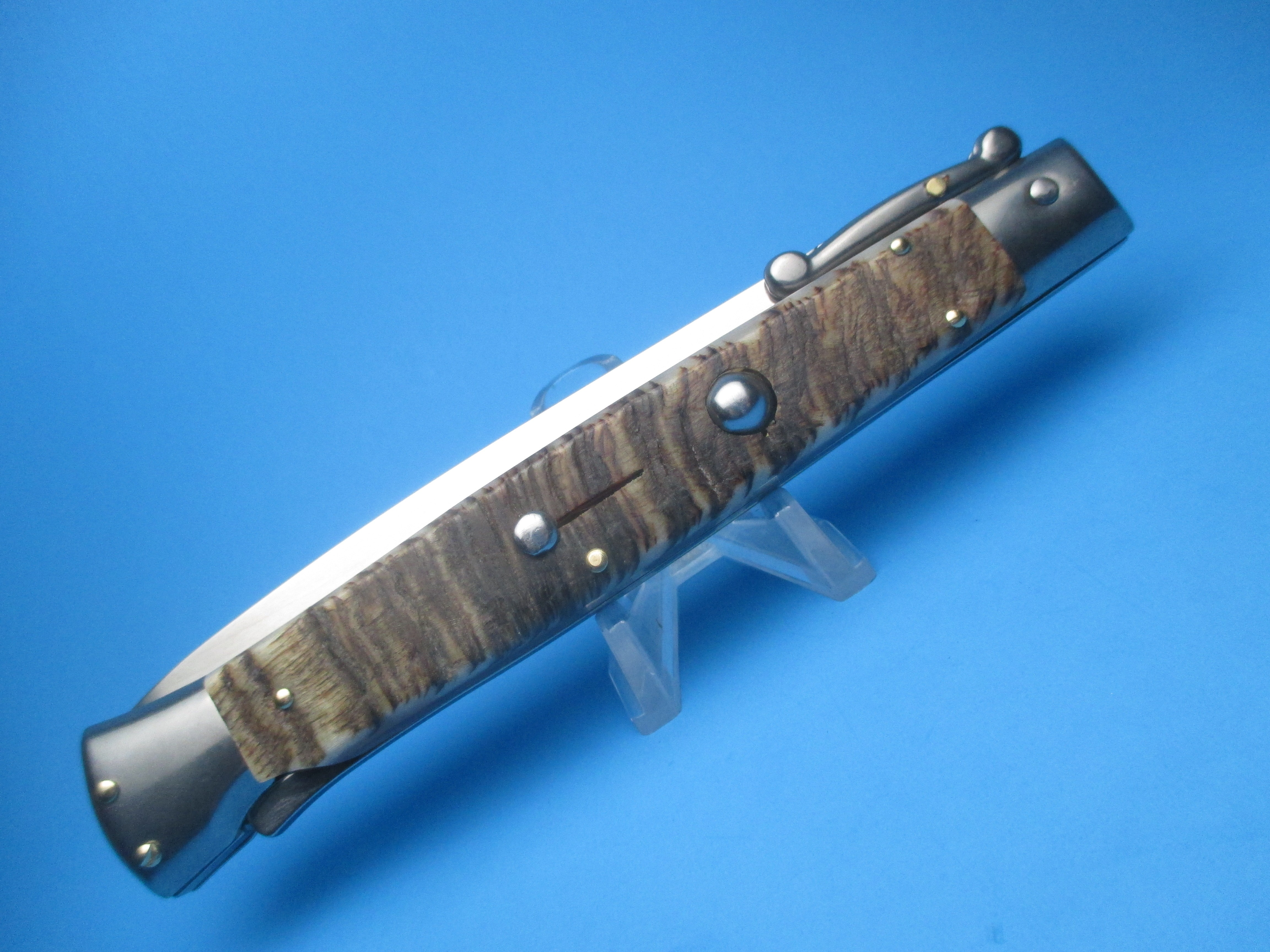 """Frank Beltrame 11"""" Rams Horn Dagger Swinguard"""