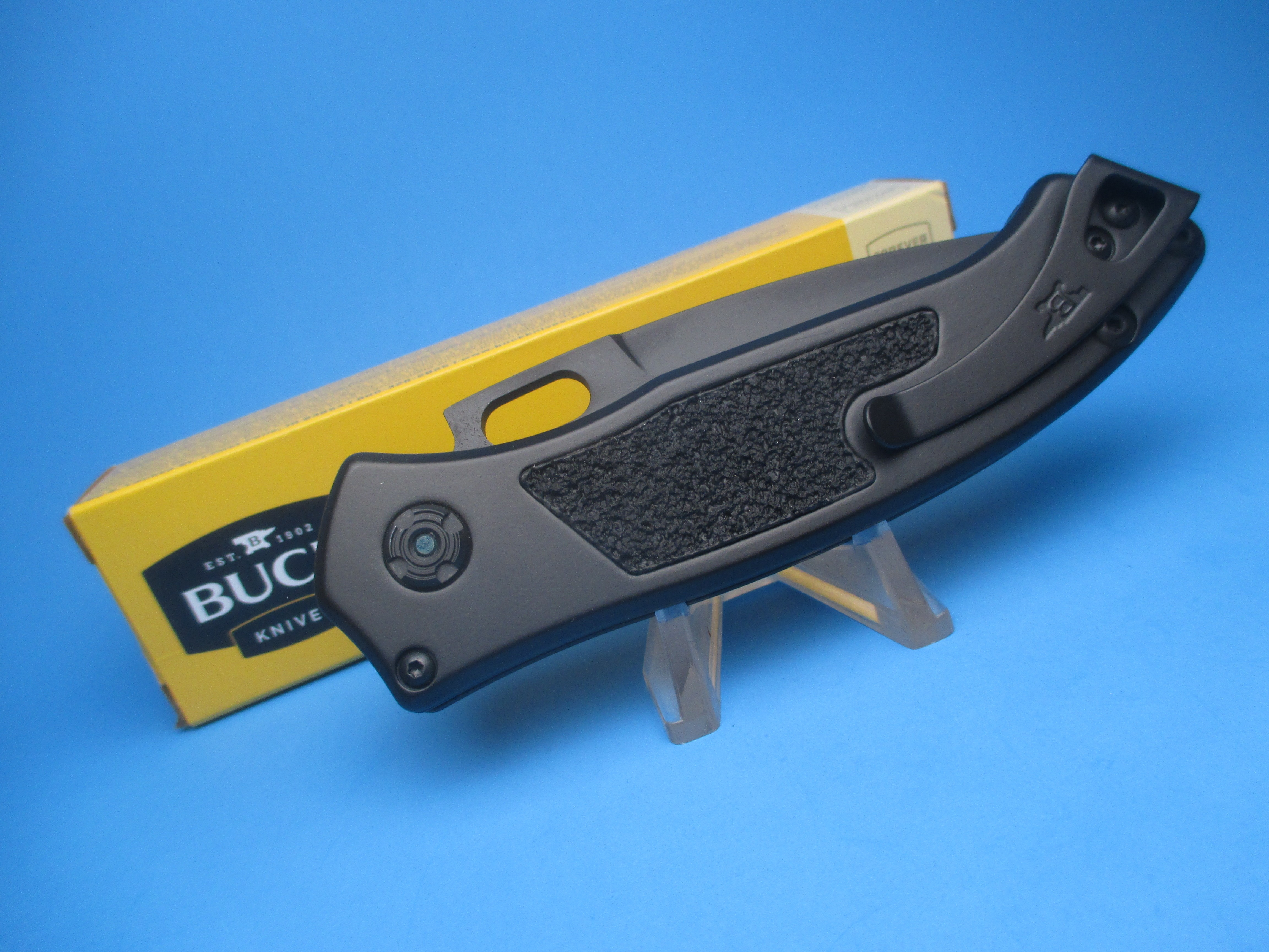 Buck 898 Impact Armor Black Switchblade Knife